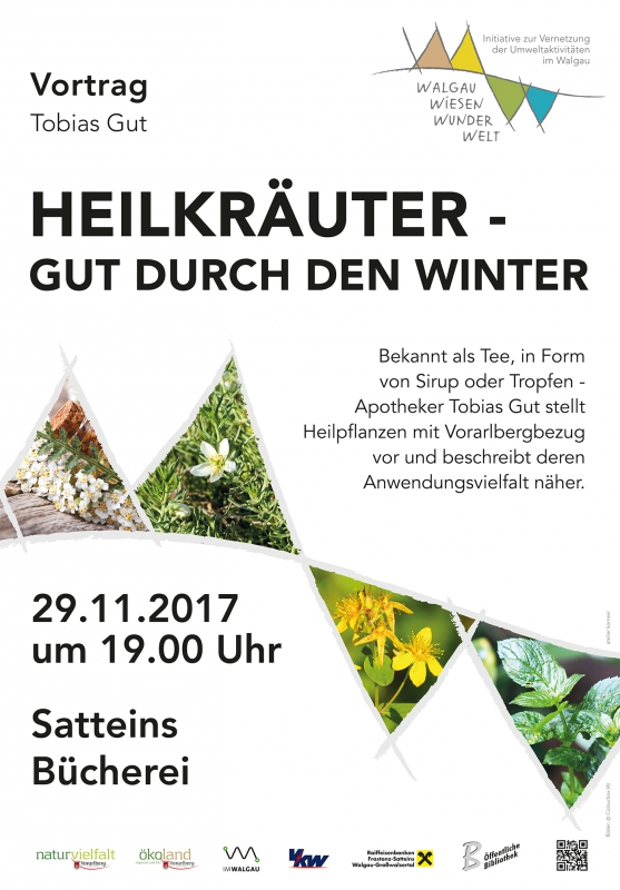 Heilkräuter - gut durch den Winter